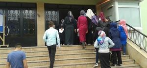 Açık lise öğrencileri telafi sınavına girdi