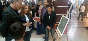 Tatvan'da resim sergisi açıldı