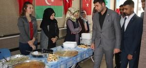 Ülkü Ocakları Türkmen aileler yararına kermes düzenledi