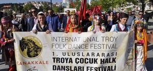 1. Uluslararası Troya Çocuk Halk Dansları Festivali
