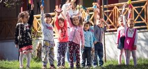 Çocuklar Tepebaşı'nda mutlu
