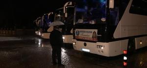 Akşehir'den son kafile dualarla Çanakkale'ye uğurlandı