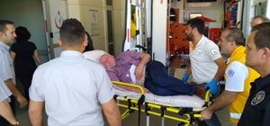 Maganda kurşunu ile yaralandı