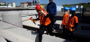 AFAD'dan çocuklara deprem eğitimi