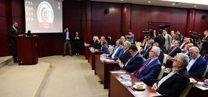 GTO'dan Ulaştırma Bakanı Arslan'a Lojistik Köy sunumu