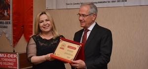 'Yılın Dostluk Ödülü' Başkan Acar'a
