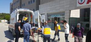 Kırşehir'de düğün yolunda kaza: 10 yaralı