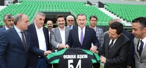 """Bakan Osman Aşkın Bak: """"Amatör kulüplerde yöneticilik yapanlar birer kahramandır"""""""