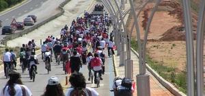 Uşak'ta 23 Nisan Bisiklet Şenliği Düzenlendi