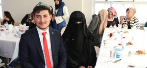 Doğu Türkistanlı gençler Kastamonu'da düğün yaptı