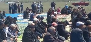 Sivas'ta çiftçilerden yağmur duası