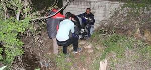Motosiklet bahçe duvarına çarptı: 2 yaralı