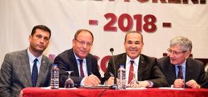 Adana Büyükşehir Belediyesi'nde toplu sözleşme imzalandı Başkan Sözlü: ''Belediyemizin yegane kaynağı, serveti nitelikli insan gücüdür, işçileridir''