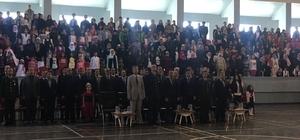 Horasan'da 23 Nisan coşkuyla kutlandı