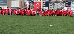 Nevşehir'de 23 Nisan coşkusu