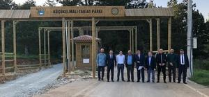 Pazaryeri'nde turizm hareketleniyor Gençlik Spor Bakanlığı yetkililerinden Başkan Yalçın'a ziyaret