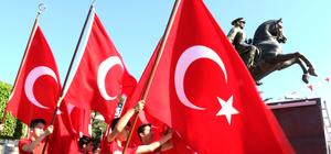 Doğu Akdeniz'de coşkulu 23 Nisan kutlaması