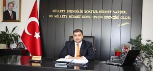 Kaymakam Kızıltoprak'tan 23 Nisan kutlaması