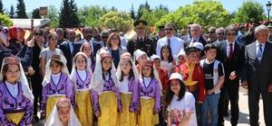 Gaziantep'te 23 Nisan coşkuyla kutlandı