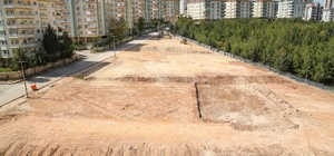Güvenevler'e modern bir park daha kazandırılıyor Başkan Fadıloğlu park alanında inceleme yaptı
