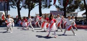Nazilli'de 23 Nisan coşkusu 23 Nisan Ulusal Egemenlik ve Çocuk Bayramı kutlamaları Nazilli'de de büyük coşkuya sahne oldu