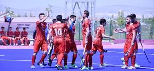 Polisgücüspor Konya'da liderliğe koşuyor Polisgücüspor - Konya Selçuklu Belediyespor: 5- 0