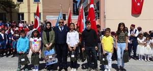 Hisarcık'ta başarılı öğrenciler ödüllendirildi