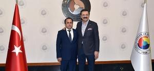 Bilecik TSO Başkanı Keskin'den Başkan Hisarcıklıoğlu'na ziyaret