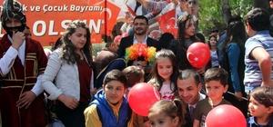 Ülkü Ocakları 23 Nisan Ulusal Egemenlik ve Çocuk Bayramı'nı kutladı