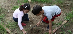 Antandros'un küçük arkeologları iş başında