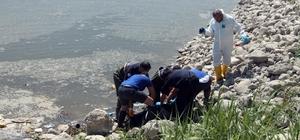 Baraj gölünde kimliği belirsiz erkek cesedi bulundu Cesedin kaç günlük olduğu yapılacak otopsinin ardından belli olacak Cesedi göle balık tutmaya gelen vatandaşlar buldu