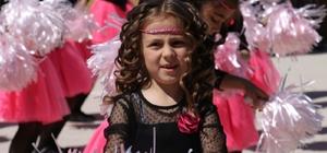 Kırka'da çocukların 23 Nisan coşkusu
