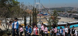 81 ilden çocuklar 15 Temmuz Şehitler Makamı'nı ziyaret etti