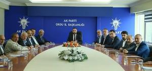 """AK Parti Ordu İl Başkanı Çelenk: """"Bütün hazırlıklarımızı tamamladık. Seçimlere hazırız"""""""