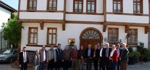 Vali Yardımcısı Özgün ve il müdürlerinden turistik yerlere ziyaret