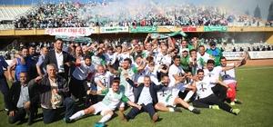 Serik Belediyespor 3. Lige yükseldi
