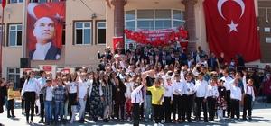 Yunak'ta 23 Nisan kutlamaları