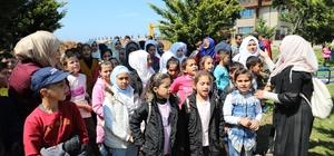 Afrinli çocuklar Rize'de