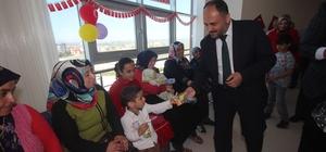 Beyşehir'de 23 Nisan'da hasta çocuklara ziyaret