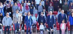 Lapseki'de 1. Uluslararası Troya Çocuk Halk Dansları Festivali yapıldı