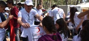 Kızılay Karabük Şubesi çocuklar ile '23 Nisan Çocuk Şenliği' etkinliğinde bir araya geldi