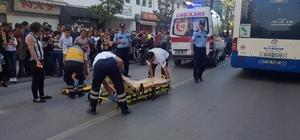 Sivil araçlara kapalı yolda trafik kazası: 2 yaralı