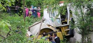 Samsun'da silindirin altında kalan sürücü öldü