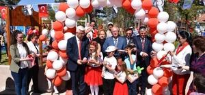 Başkan Albayrak Atatürk ve Gençlik Parkı ile Atatürk Çocukları Kütüphanesinin açılışına katıldı