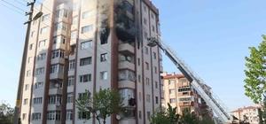 Kütahya'da yangın: 1'i ağır 4 yaralı Bir apartmanın 7. katında çıkan yangında 1'i ağır 4 kişi yaralandı