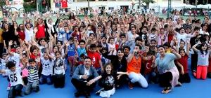 Çukurova Belediyesi CUP'ta heyecan başladı 14 Yaş Uluslararası Tenis Turnuvası'na  14 ülkeden 152 sporcu katıldı