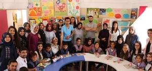 Geleceğin öğretmenleri minik öğrencilerle buluştu