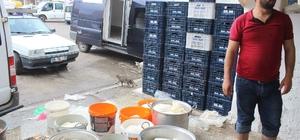 Günde 100 ton peynir üretilen Siverek'te patentli üretici yok Siverek taze peyniri tezgahtaki yerini aldı İlçede günlük 100 ton peynir üretilerek bir çok ile gönderiliyor