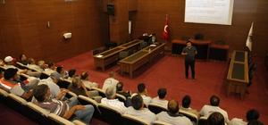 Döşemealtı Belediye personeline hizmet içi eğitim
