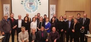 KATAP 2018 yılı çalıştayı Başkan Togar'a tarihe saygı ve katkı ödülü verildi